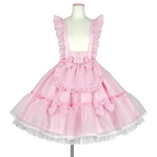 Angelic Pretty - Angelic pretty ふんわりパフェスカート ピンク