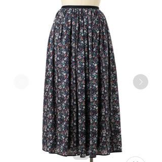 Drawer - Drawer フラワープリントギャザースカート 36サイズ