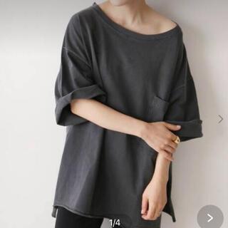 プラージュ(Plage)のPlage 【CALUX/キャラクス】WIDE PKT Tシャツ(Tシャツ(半袖/袖なし))