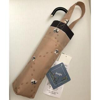シマムラ(しまむら)のdear.ful 折り畳み傘 DFミニネコアシアト プチプラのあや しまむら(傘)