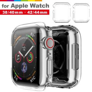 Apple Watch用クリアTPUケースSeries5/6/SE・40m