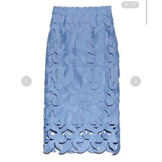 FRAY I.D - 美品CELFORDセルフォード リーフレーススカート