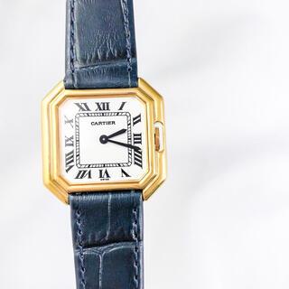 カルティエ(Cartier)の【仕上済/ベルト2本】カルティエ サンチュール ゴールド レディース 腕時計(腕時計)