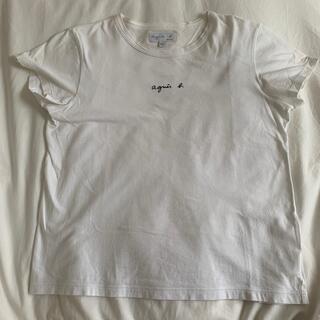 agnes b. - アニエスベー 半袖ロゴTシャツ