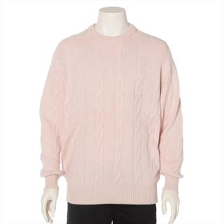 ブルネロクチネリ(BRUNELLO CUCINELLI)のブルネロクチネリ  カシミヤ S ピンク メンズ ニット(ニット/セーター)