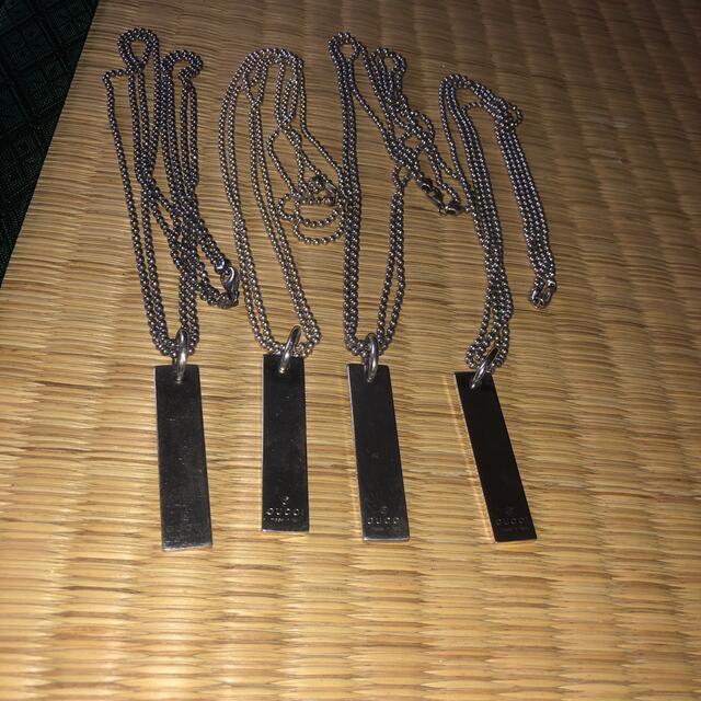Gucci(グッチ)のネックレス ダップルチェーン メンズのアクセサリー(ネックレス)の商品写真