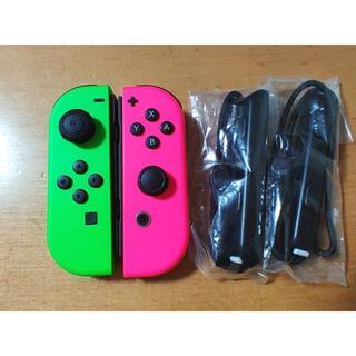 ニンテンドースイッチ(Nintendo Switch)のpinyoko様専用 Joy-Con (L)(R) スプラトゥーンカラー(その他)