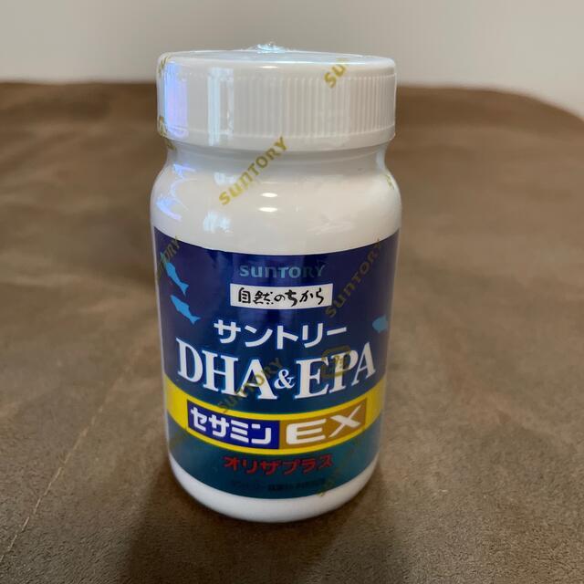サントリー(サントリー)の【新品】サントリーDHA&EPA+セサミンEX  オリザプラス 食品/飲料/酒の健康食品(その他)の商品写真