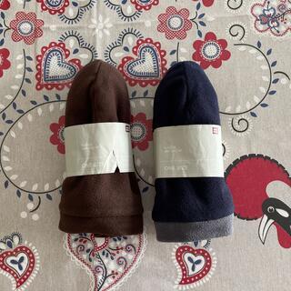 ユニクロ(UNIQLO)のユニクロ フリースウォッチキャップ フリース帽子 2個セット(キャップ)