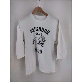 ネイバーフッド(NEIGHBORHOOD)のNEIGHBORHOOD(ネイバーフッド) プリント7分丈カットソー メンズ(Tシャツ/カットソー(七分/長袖))