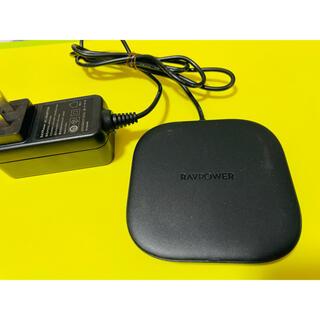 ソフトバンク(Softbank)のRAVPOWER ワイヤレス充電器 美品(バッテリー/充電器)