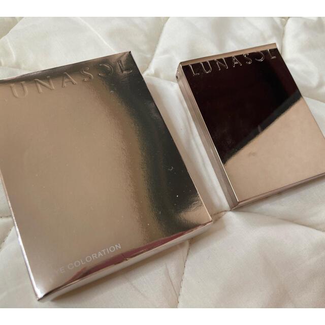 LUNASOL(ルナソル)のルナソル アイカラーレーション03バタフライウィング アイシャドウ コスメ/美容のベースメイク/化粧品(アイシャドウ)の商品写真