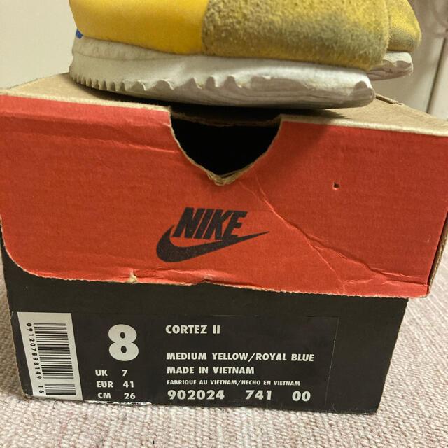 NIKE(ナイキ)の【96年製】NIKE CORTEZ II (ナイキ コルテッツ2)26cm メンズの靴/シューズ(スニーカー)の商品写真