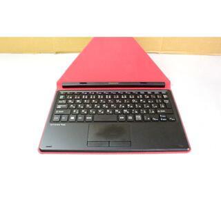 フジツウ(富士通)のFUJITSU arrows Tab QH34/B2 カバー付きキーボード(タブレット)
