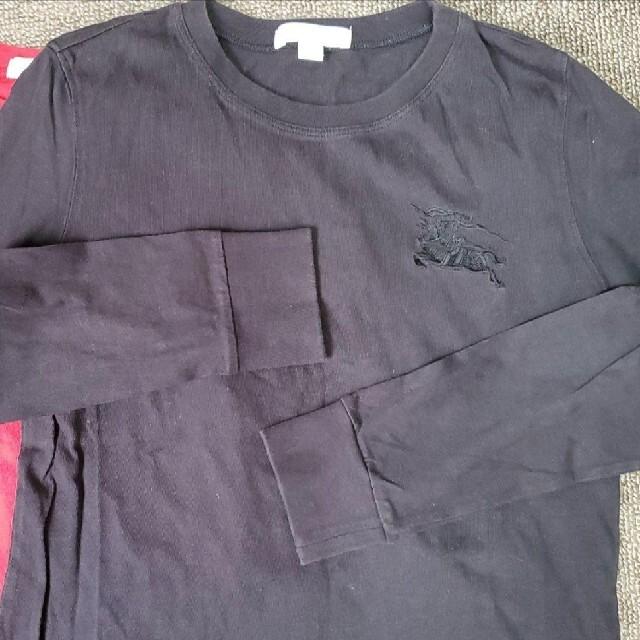 BURBERRY(バーバリー)のBURBERRY 140 長袖カットソー 2枚セット キッズ/ベビー/マタニティのキッズ服男の子用(90cm~)(Tシャツ/カットソー)の商品写真
