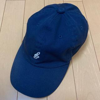 ナンバーナイン(NUMBER (N)INE)のNUMBER (N)INE ナンバーナイン 音符 ベースボール キャップ CAP(キャップ)
