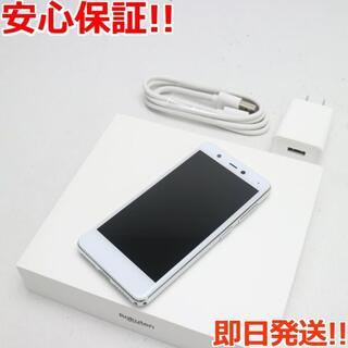 アンドロイド(ANDROID)の新品同様 Rakuten Mini  クールホワイト(スマートフォン本体)