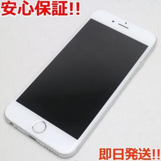 アイフォーン(iPhone)の美品 SIMフリー iPhone6S 64GB シルバー (スマートフォン本体)