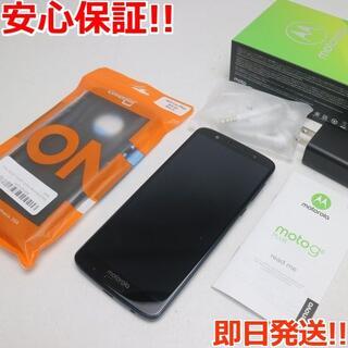 モトローラ(Motorola)の美品 SIMフリー Moto G6 Plus ディープインディゴ (スマートフォン本体)