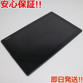 ソニー(SONY)の美品 SO-05G Xperia Z4 Tablet ブラック (タブレット)