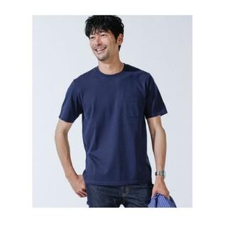 nano・universe - 定価4950円 汗染み防止 Anti Soaked ヘビークルーネックTシャツ