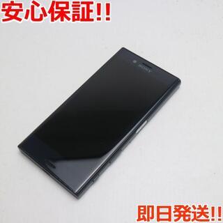 エクスペリア(Xperia)の良品中古 SO-02J Xperia X Compact ブラック (スマートフォン本体)