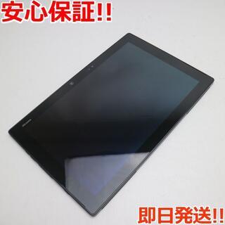 フジツウ(富士通)の美品 F-04H arrows Tab ブラック (タブレット)