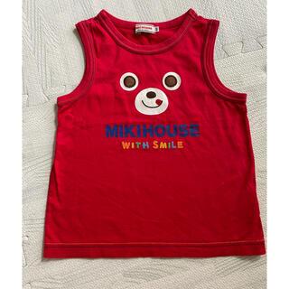 ミキハウス(mikihouse)のミキハウス タンクトップ 赤 プッチー 100(Tシャツ/カットソー)