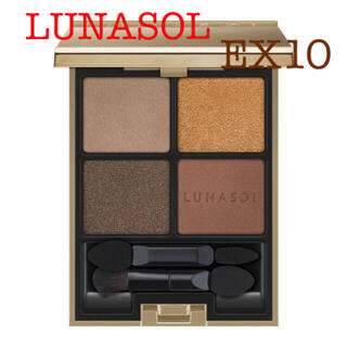 LUNASOL - LUNASOL アイカラーレーション EX10 Spice Castle