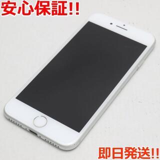 アイフォーン(iPhone)の美品 SOFTBANK iPhone7 32GB シルバー (スマートフォン本体)