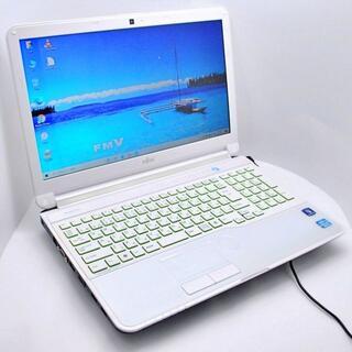 フジツウ(富士通)の【おすすめ】富士通 ノートPC LIFEBOOK 大容量750GB カメラ付(ノートPC)