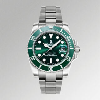 A BATHING APE - BAPEX TYPE1 GREEN グリーン 時計