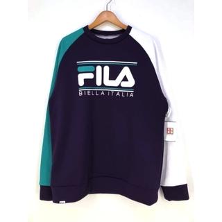フィラ(FILA)のFILA(フィラ) 裏起毛トレーナー メンズ トップス スウェット・トレーナー(スウェット)