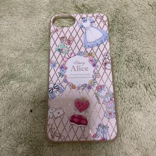 ディズニー(Disney)のiPhoneケース 不思議の国のアリス(iPhoneケース)