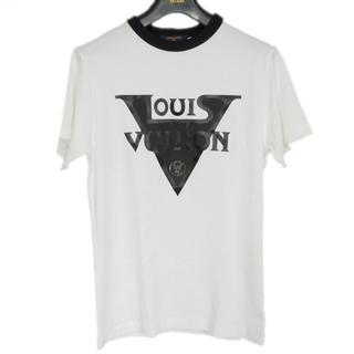 ルイヴィトン(LOUIS VUITTON)のルイ・ヴィトン クルーネック XS LVミッドナイト 半袖Tシャツ 1A63EO(Tシャツ(半袖/袖なし))