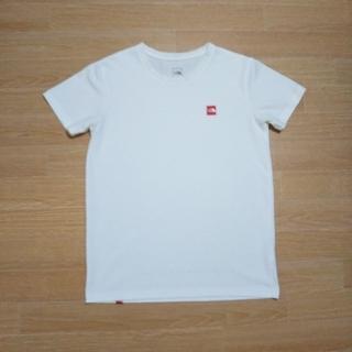 THE NORTH FACE - ノースフェイスTシャツ、スモールBoxロゴTシャツ【レディースLサイズ】