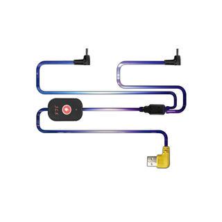 ケーブル 空調作業服 空調ウェア 冷却服 夏用作業着 USB給電式