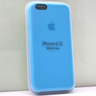 アップル(Apple)のiPhone 6s/6用 Apple純正 シリコンケース ブルー(iPhoneケース)