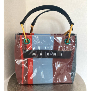 Marni - 新品未使用 MARNI マルニ トートバッグ ポリアミドglossy glip