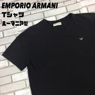エンポリオアルマーニ(Emporio Armani)の古着 ルーマニア製 EMPORIOARMANI エンポリオアルマーニ tシャツ(Tシャツ/カットソー(半袖/袖なし))