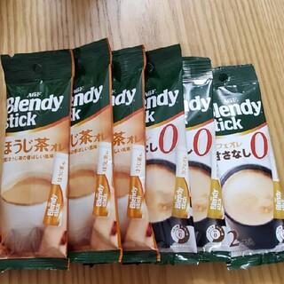 エイージーエフ(AGF)のBlendy ほうじ茶オレ カフェオレ甘さなし AGF(コーヒー)