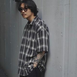 COOTIE - Jacquard Check S/S Shirt
