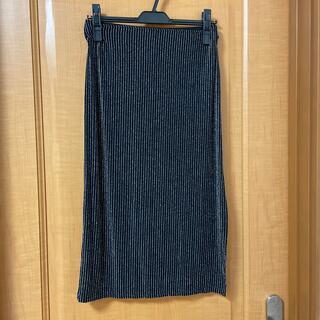 エイチアンドエム(H&M)のタイトスカート(ひざ丈スカート)
