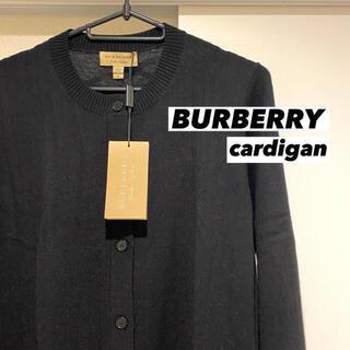 バーバリー(BURBERRY)の新品☆SALE❗️バーバリー カーディガン トップス アウター 黒 人気(カーディガン)