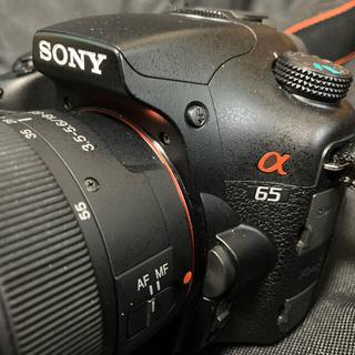 SONY - sony α65 デジタル一眼 ミラーレス