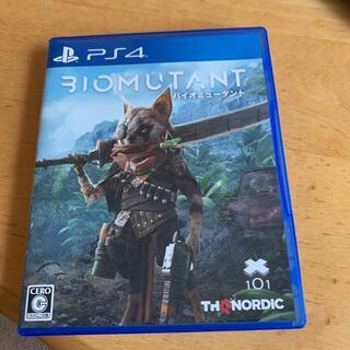 PlayStation4 - バイオミュータント PS4
