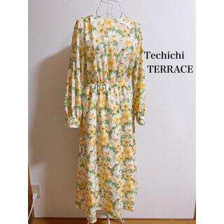 テチチ(Techichi)の大花柄ワンピース(ロングワンピース/マキシワンピース)