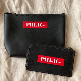 MILKFED. - ミルクフェドのポーチとカードケース