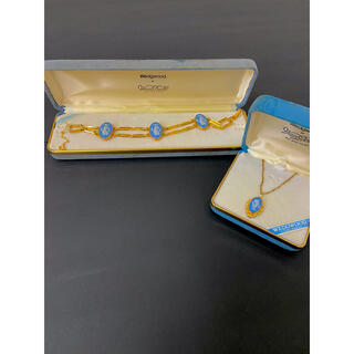 ウェッジウッド(WEDGWOOD)のウェッジウッド ブレスレット ネックレスのおまけ付き!(ブレスレット/バングル)