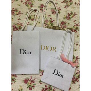 ディオール(Dior)のDior ショップ袋3枚セット(ショップ袋)